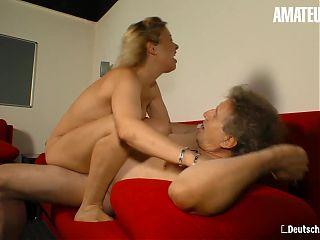 AmateurEuro - German Amateur Manuela P. Sucks And Fucks Hard