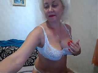Blonde mom nude in chat