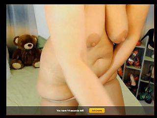 Gorgeous Web mature in tan pantyhose