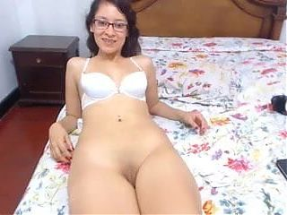 Latina with Glasses Ass Toy