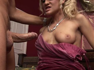 MILF Gets Rabbit Fucked After Date Night