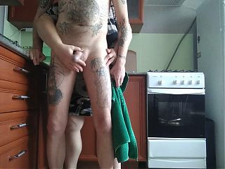 helped me cum by jerking off my cock