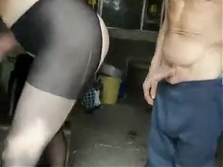 Asian MILF Gets Grandpa Creampie For Hubby