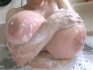 Bathing Milena