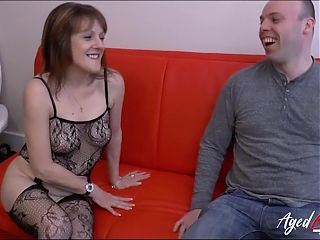 AGEDLOVE, Mature Lady from Britain Has Hardcore Sex