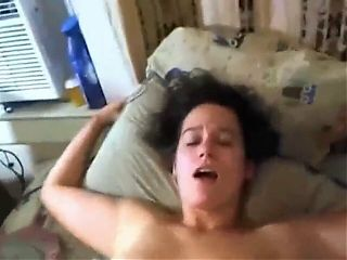 Sexy mature amateur wife with hairy pussy enjoys neighbor