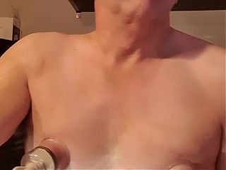 Cam wank and cum swallow