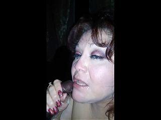 Rae Lynn slow motion cum shot 2